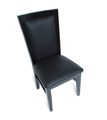 Image of BBO Poker Tables Classic Black Gloss Poker Chair Set - Game Tables