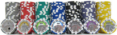JP Commerce Casino Royale 500 Piece Clay Poker Chip Set 13.5 gram - Gaming Blaze