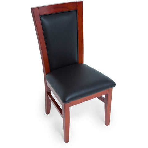 BBO Poker Tables Classic Mahogany Poker Chair Set - Game Tables