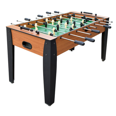 "Hathaway Hurricane Cherry 54"" Foosball Table - Game Tables"