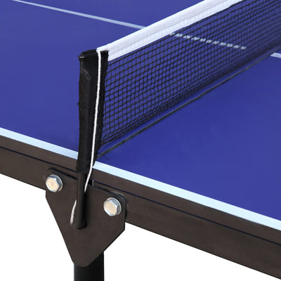 Hathaway Crossover 5ft Portable Ping Pong Table - Gaming Blaze
