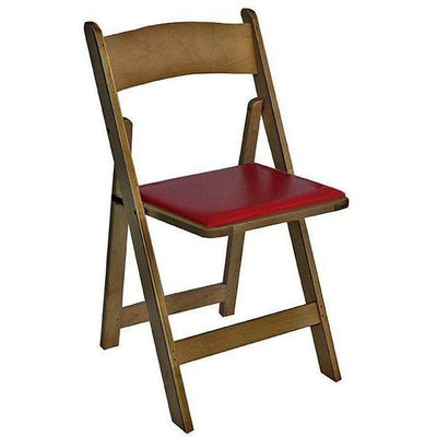 Kestell Oak Folding Poker Chair - Gaming Blaze