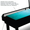 Hudson Shuffleboards Glow-in-the-Dark Playing Surface - Gaming Blaze