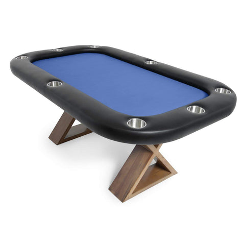 BBO Poker Tables Helmsley Dining Poker Table 8 Person with Dining Top - Gaming Blaze