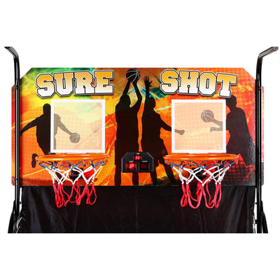 Hathaway Dual Sure Shot Basketball Arcade Game - Gaming Blaze