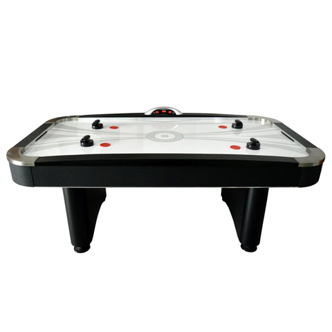 Air Hockey Table 7ft with Electronic Scoring Top Shelf by Hathaway - Gaming Tables