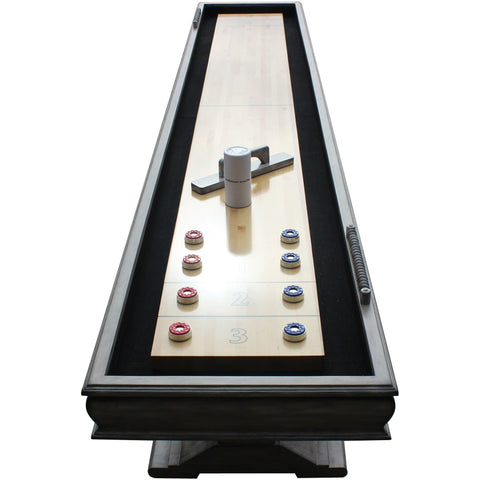 Hathaway Montecito Driftwood 12ft Shuffleboard Table - Game Tables
