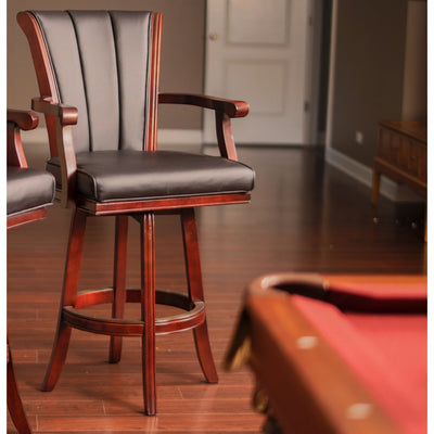 "Hathaway Avondale 32"" Swivel Bar Stool - Gaming Blaze"