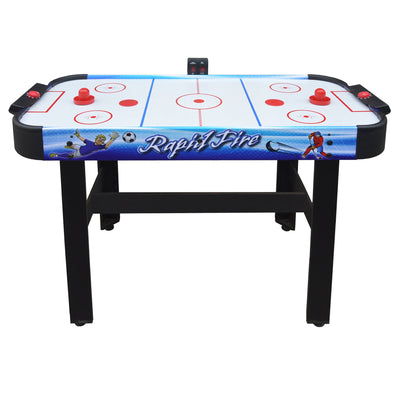 Hathaway Rapid Fire 3 in 1 Air Hockey Multi Game Table - Gaming Blaze