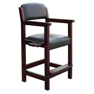 Hathaway Cambridge Rich Mahogany Finish Spectator Chair - Game Tables