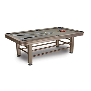 Imperial 8ft Outdoor Pool Table All Weather with Playing Accessories - Game Tables