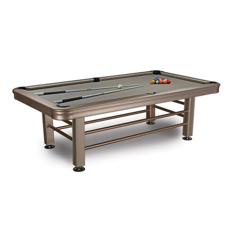 Image of Imperial 8ft Outdoor Pool Table All Weather with Playing Accessories - Game Tables