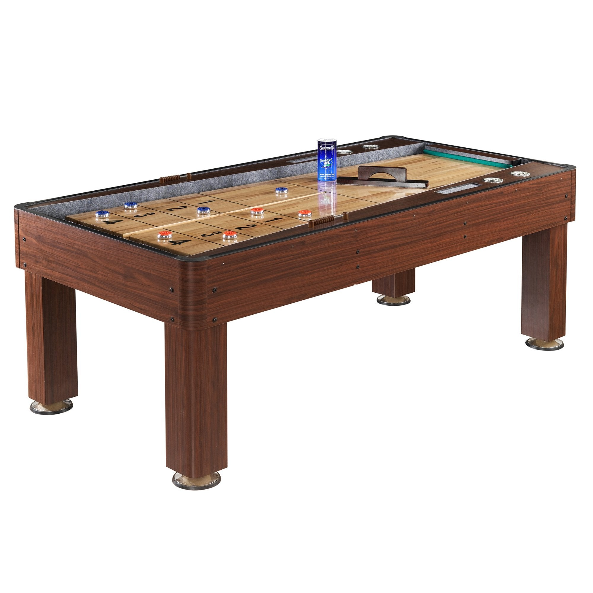 Hathaway Ricochet 7ft Shuffleboard Table - Gaming Blaze