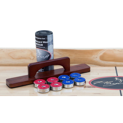 Playcraft Coventry Shuffleboard Table with Playing Accessories - Gaming Blaze