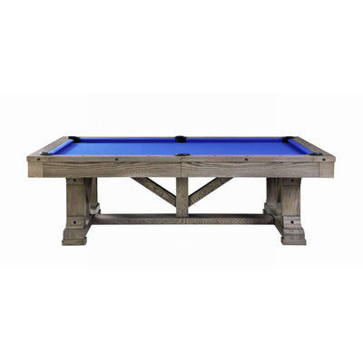 Playcraft Cross Creek Slate Pool Table with Optional Dining Top - Gaming Blaze