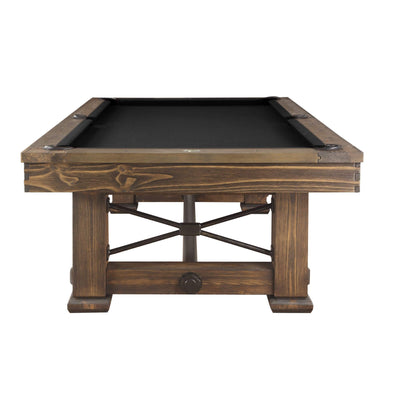 Playcraft Rio Grande Slate Pool Table with Optional Dining Top - Gaming Blaze