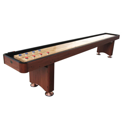 Playcraft Woodbridge Shuffleboard Table with Playing Accessories - Gaming Blaze