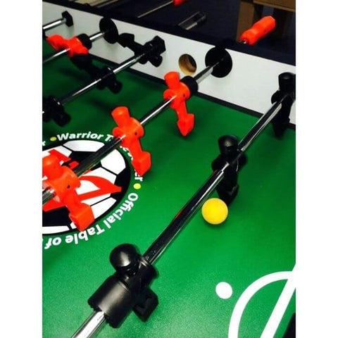 Warrior Table Soccer Foosball Beer Pong Table - Game Tables