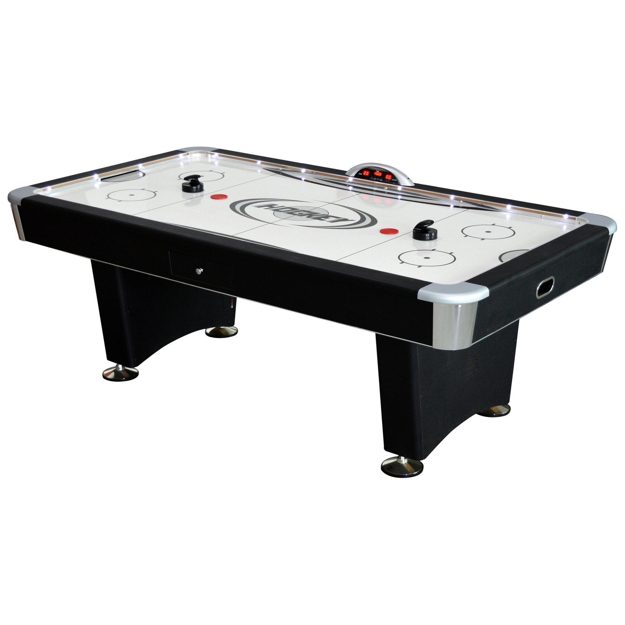 Hathaway Stratosphere 7.5ft Air Hockey Table - Gaming Blaze