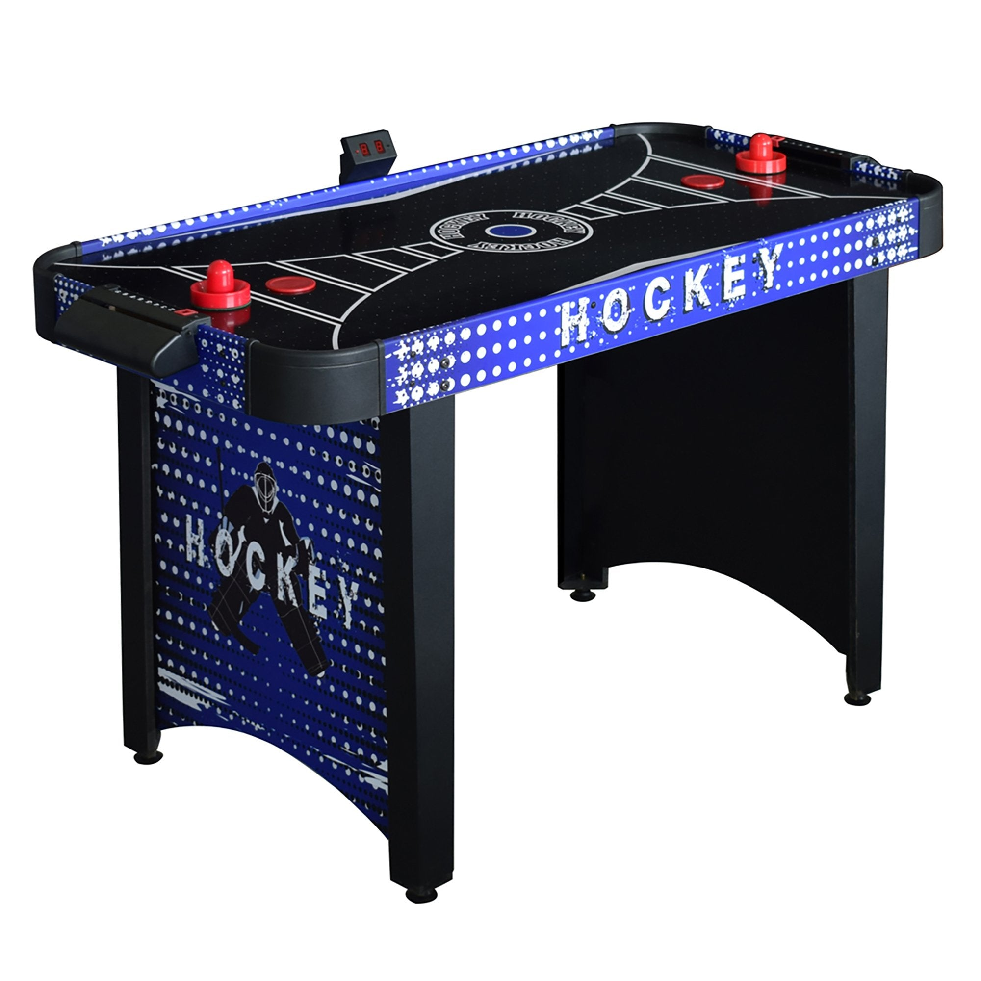 Hathaway Predator 4ft Air Hockey Table - Gaming Blaze