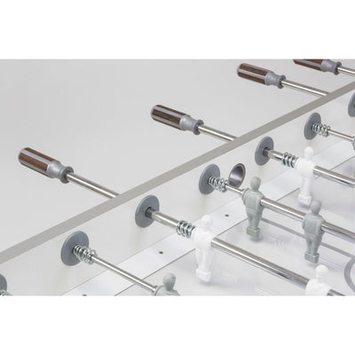 Garlando G-500 Pure White Foosball Table - Gaming Blaze