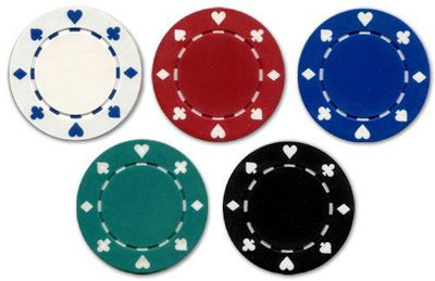JP Commerce Suited 500 Piece Casino Poker Chips Set 11.5 gram - Gaming Blaze