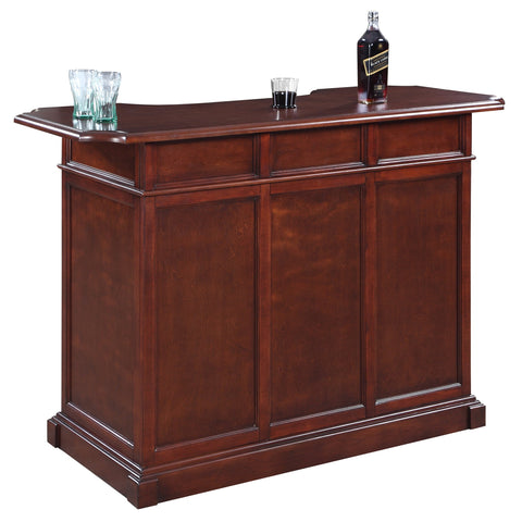 "Hathaway Ridgeline 60"" Home Bar Set with Storage - Game Tables"