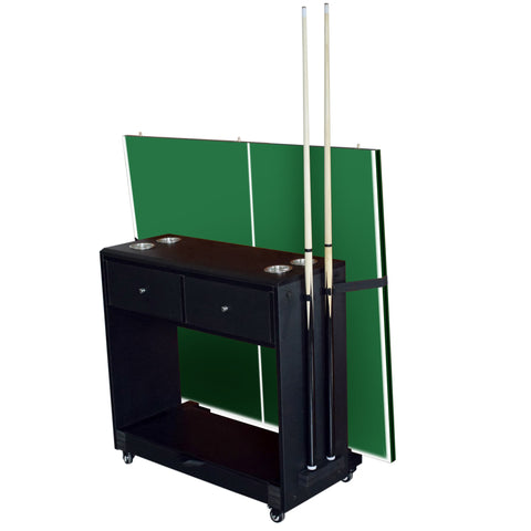 Hathaway Multi-Purpose Game Room Storage Caddy - Game Tables