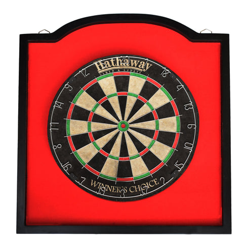 Hathaway Dartboard Backboard Wood Framed - Game Tables