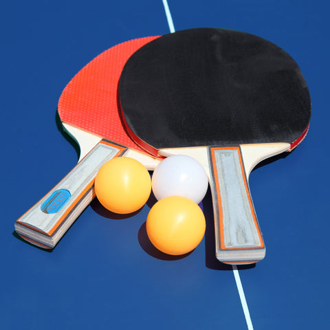 Hathaway Back Stop 9ft Folding Ping Pong Table - Game Tables