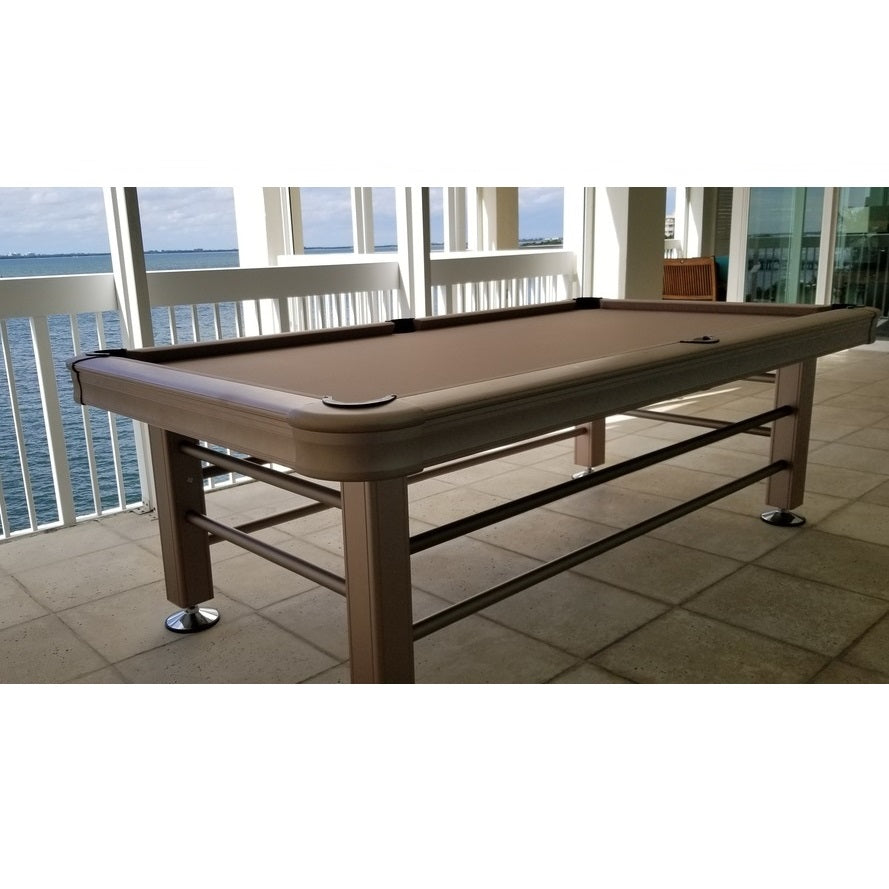 Magnificent Imperial 8Ft Outdoor Pool Table All Weather With Playing Accessories Interior Design Ideas Inesswwsoteloinfo
