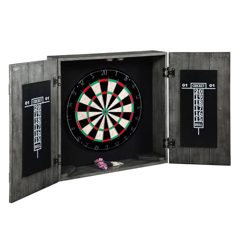 Hathaway Drifter Solid Wood Dartboard Cabinet - Game Tables