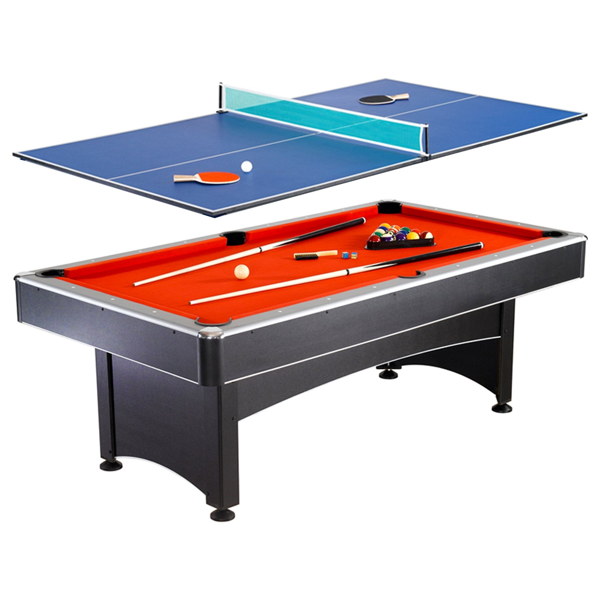 Hathaway Maverick 7ft Multi Game Table 2 in 1 - Gaming Blaze