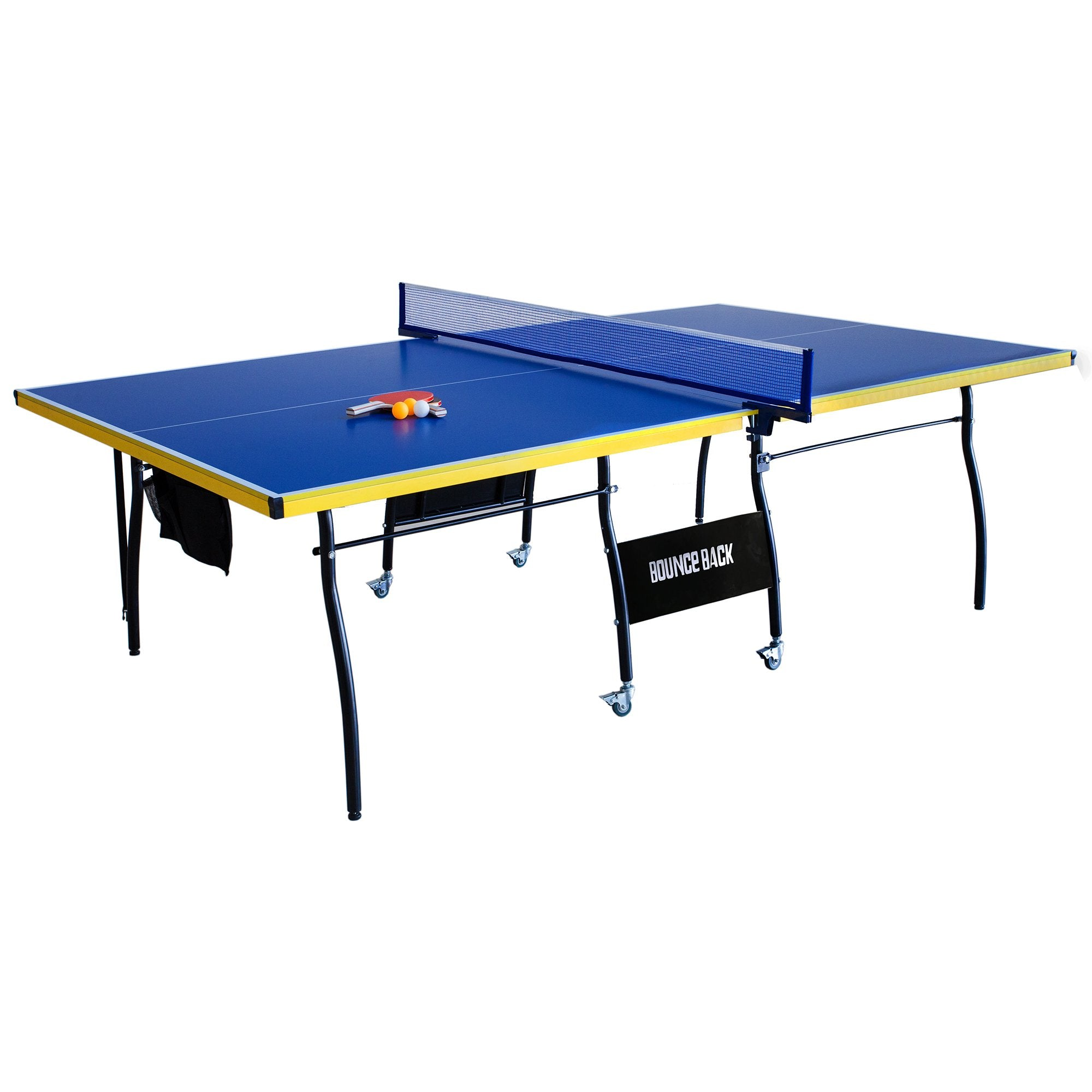 Hathaway Bounce Back 9ft Folding Ping Pong Table - Gaming Blaze