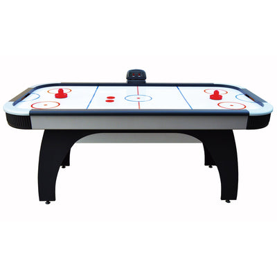 Hathaway Silverstreak 6ft Air Hockey Table with Electronic Scoring  - Gaming Blaze