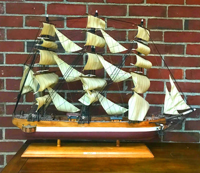 Model Rainbow 1845 Clipper Ship