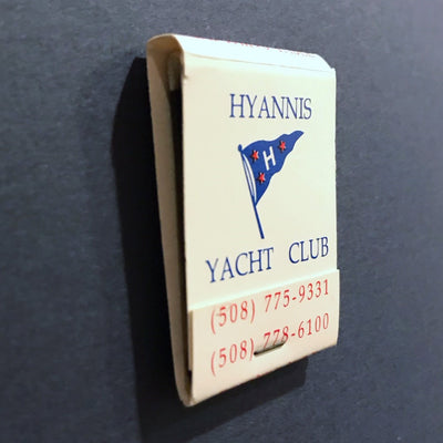 Hyannis Yacht Club Framed Matchbook