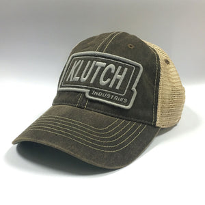 Klutch Industries Classic Logo Trucker Hat