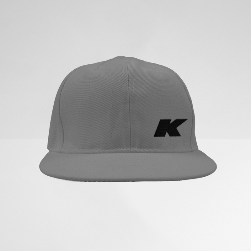 Klutch Industries Snapback Gray Hat