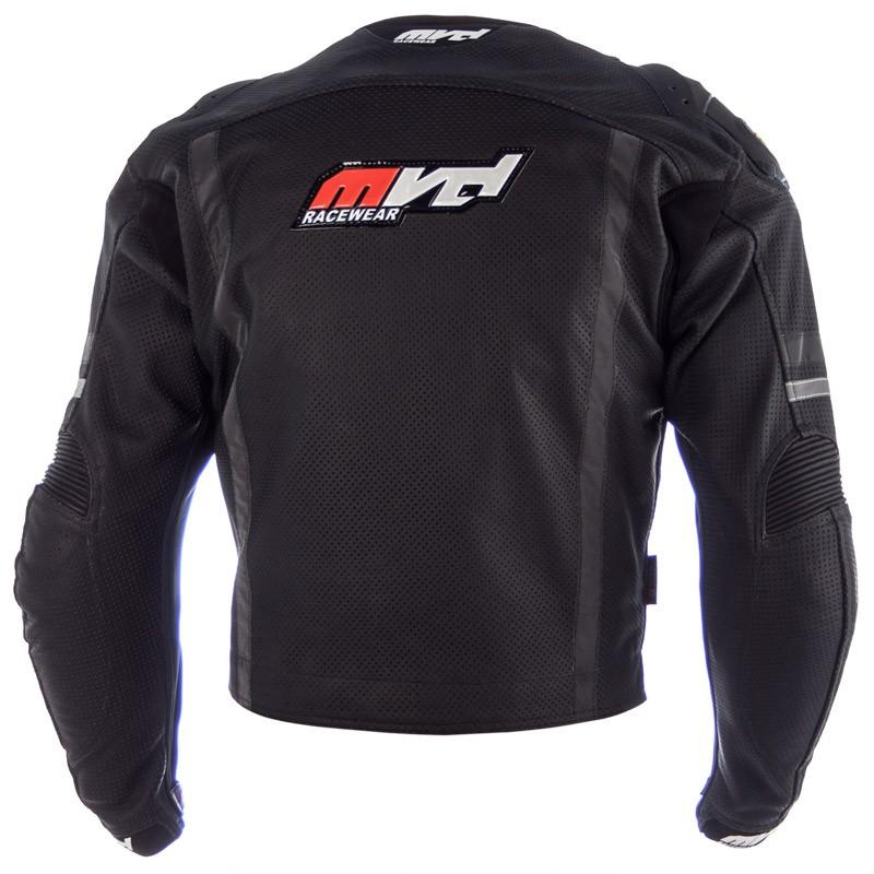 MVD Racewear  Supermoto Jacket Black