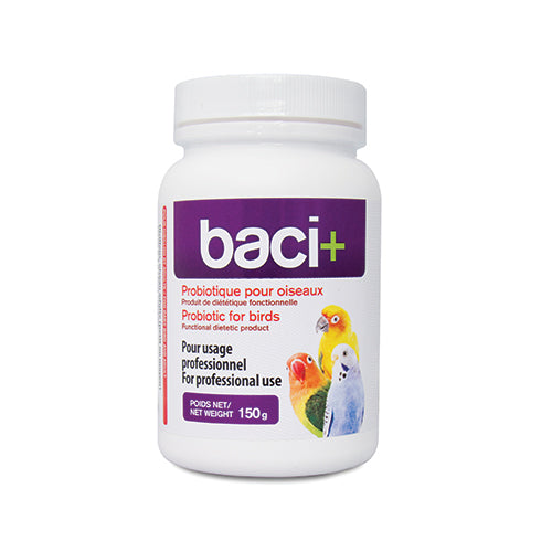 baci+ | Prebiotics & probiotics for birds of all ages