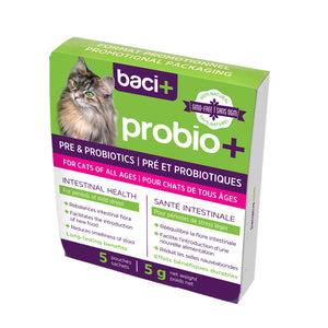 baci+ | Prebiotics & probiotics for cats of all ages | Adoption pack