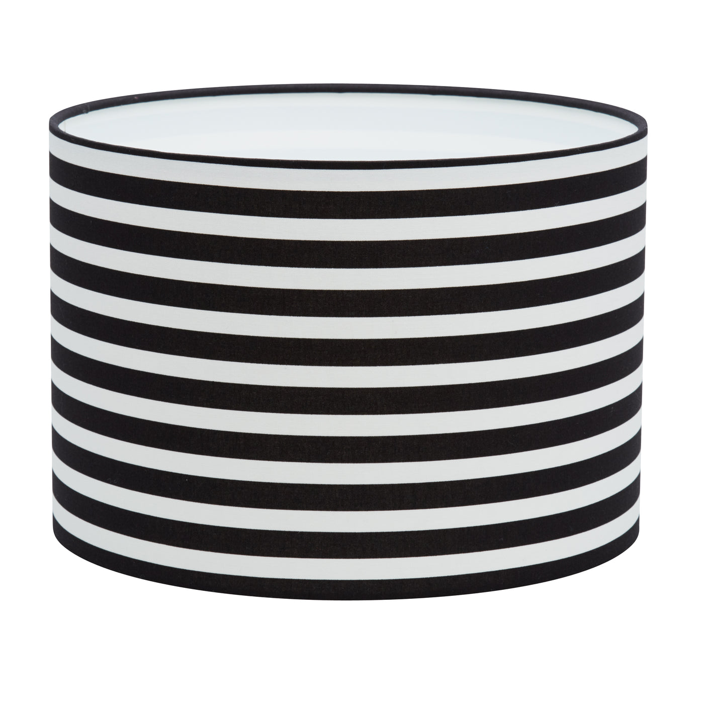 Black & White Stripes Lampshade