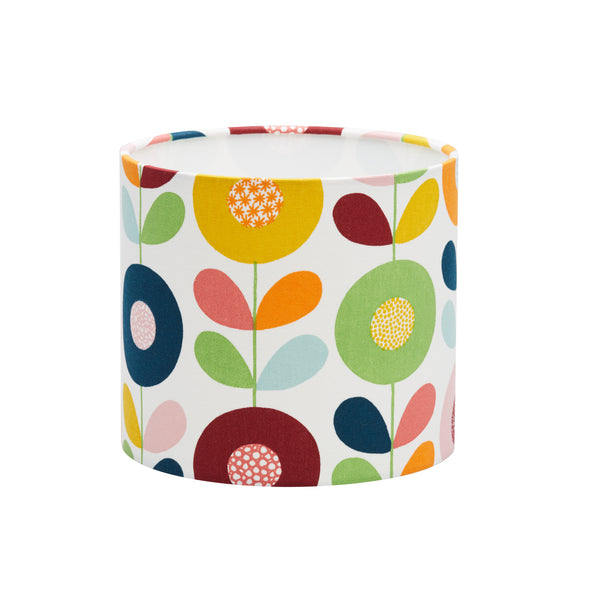 Circle Flowers Lampshade