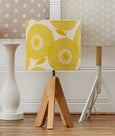 Gold Flower Fields Lampshade