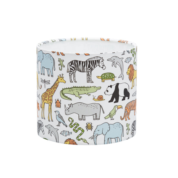 Jungle Animals Lampshade