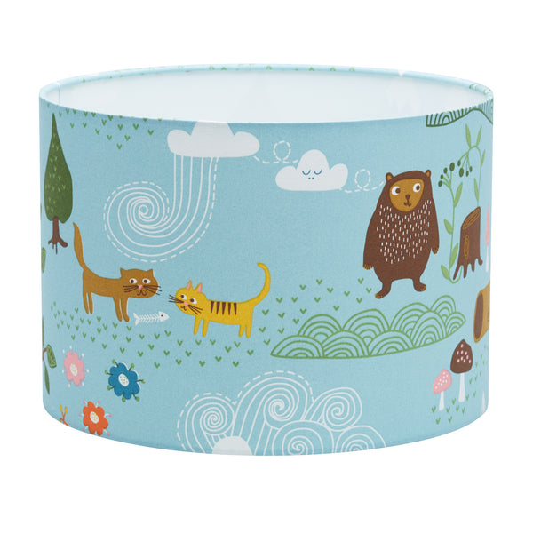 Little Bear Blue Lampshade