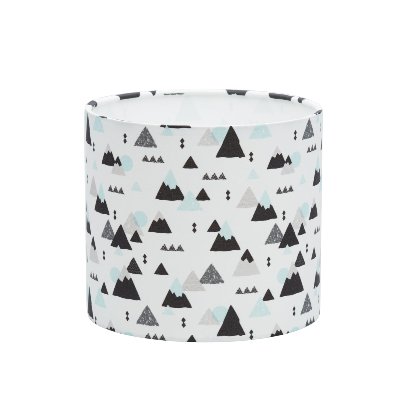 Mint Mountains Lampshade