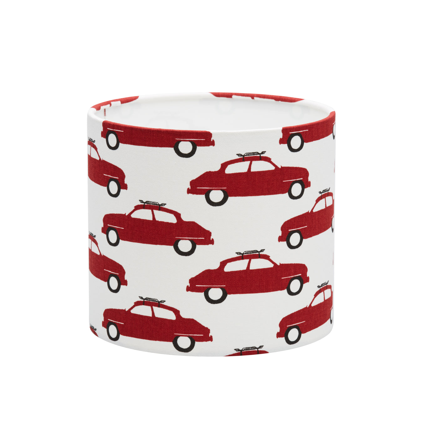 Red Saab Cars Lampshade