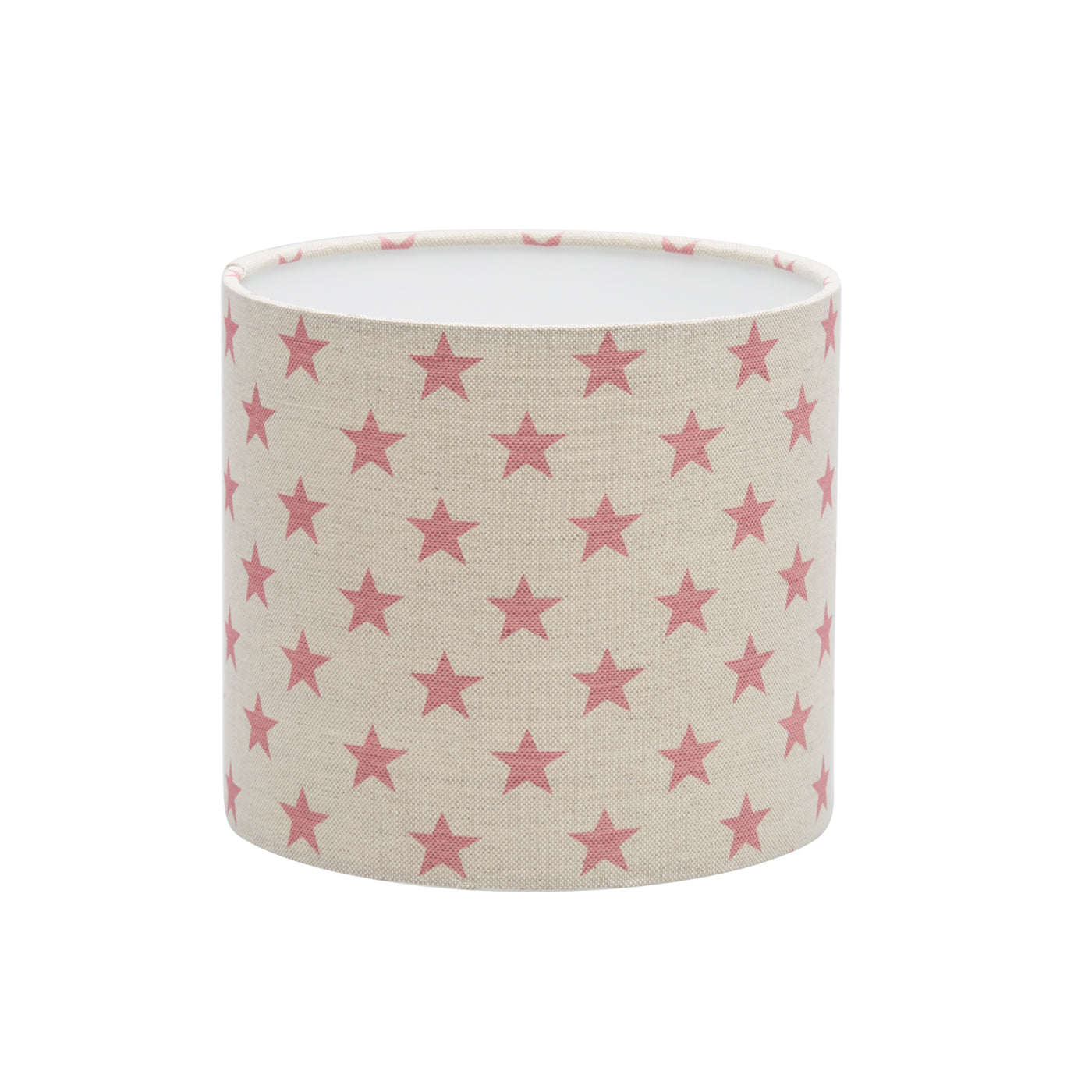 Pink Sparkle Linen Lampshade